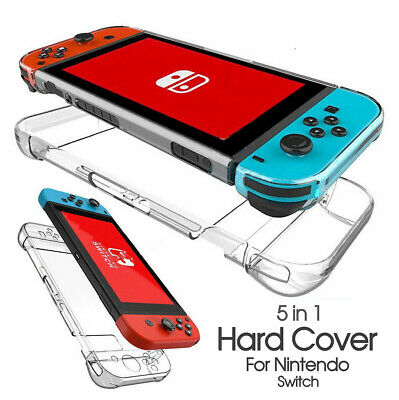 AU11.35 • Buy For Nintendo Switch Hard Case Cover Transparent Clear Shockproof Protective