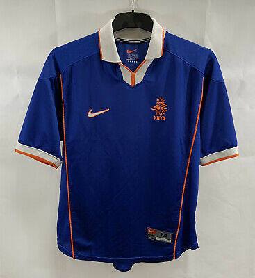 Holland Away Football Shirt 1998/00 Adults Medium Nike C916 • 69.99£