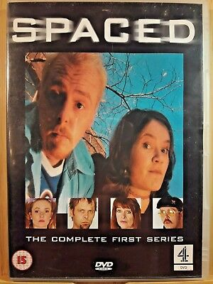 Spaced - The Complete First Series (DVD, 2001) Simon Pegg - FAST/FREE P&P • 2.65£