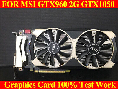 $ CDN201.72 • Buy FOR MSI GTX960 2G GTX1050 NVIDIA Graphics Card Test 100% Ok