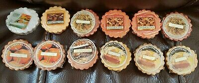 Yankee Candle Wax Potpourri Tarts Lot Of 12 Fall Scents • 13.33£