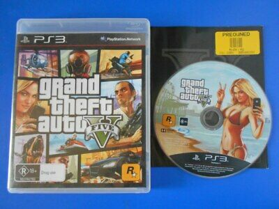 AU11 • Buy Grand Theft Auto V - Sony PS3 PlayStation Three Games PAL