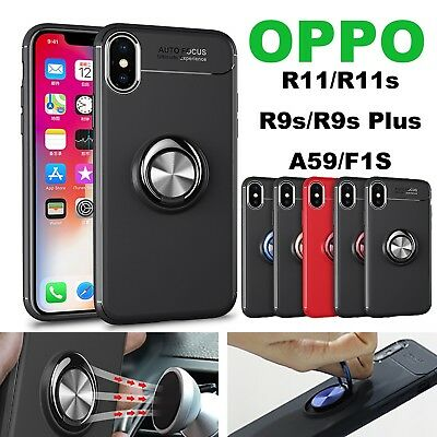 AU10.99 • Buy OPPO Reno A9 X7 5 3s 73 57 F1s R17 15 11 9s Hybrid Case Invisible Magnetic Stand