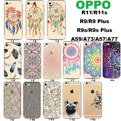 AU6.99 • Buy OPPO AX7 5s A3s FindX R15 Pro 11s 9s Plus F1S A57 73 Mandala Pet Slim Phone Case