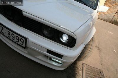 AU36.96 • Buy For BMW 3 Series E30 Eyebrows Headlight Lightbrows Eye Lids Brows Covers Mask M3