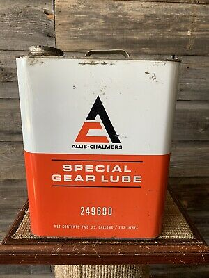 $ CDN150 • Buy Vintage Allis-Chalmers Oil Can 2 Gallon Gear Lube Oil Can