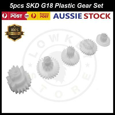 AU17.99 • Buy SKD G18 5pcs Plastic Gears Replacement Parts Gel Blaster Toy 7-8mm Upgrade Gear