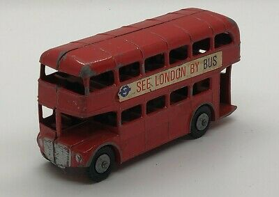 $ CDN18.66 • Buy Vintage Lone Star Diecast Double Decker Bus See London By Bus England Toy #1