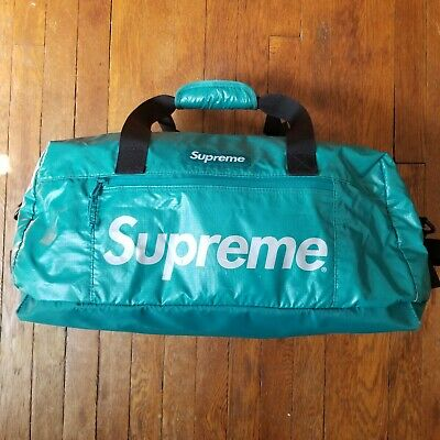 $ CDN269.68 • Buy Supreme Duffle Bag - FW17  - Dark Teal