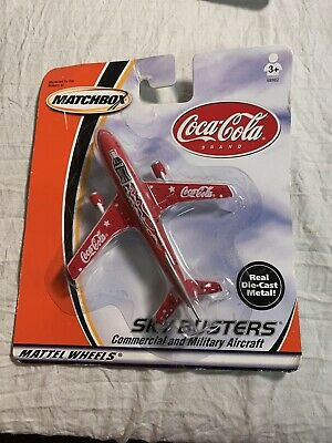 $9.99 • Buy Matchbox 2000 Sky Busters Series Coca~Cola Airliner Collectible NEW!!