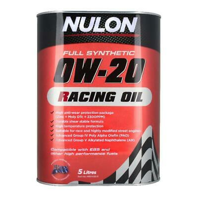 AU79.95 • Buy Nulon Full Synthetic 0W20 Racing Oil - 5 Litre