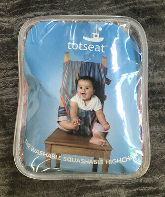 Totseat Fabric Highchair In Pink • 8.99£