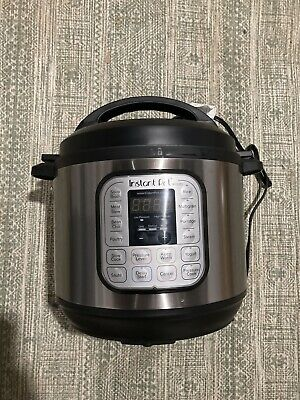$63 • Buy Instant Pot DUO80 8 Quart 7-in-1 Slow Cooker - Silver