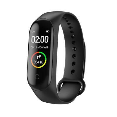$ CDN6.18 • Buy M4 Smart Watch Sports Wrist Band Heart Rate Fitness Bracelet Waterproof J9S9