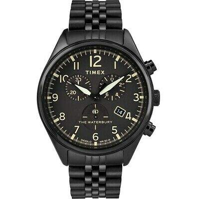 $99.99 • Buy Timex The Waterbury Quartz Movement Black Dial Men's Watches TW2R88600