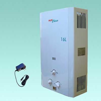£211.94 • Buy Brand New Lpg Propane Gas  Tankless Water Heater  4.3gpm / 16l