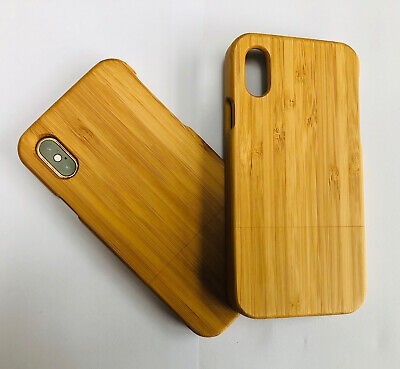 Wooden Bamboo IPhone X / XS Case Sustainable • 4.99£