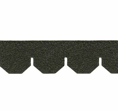 $15.99 • Buy Dollhouse Miniature Roofing Black Hexagon Asphalt Shingles By Alessio Miniatures