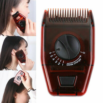 Men Women Adjustable Manual Hair Trimmer Cutting Hairdressing Comb Clipper Tools • 3.58£
