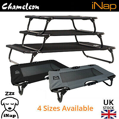 Premium Dog Pet Elevated Bed Raised Foldable - 2 Year Warranty - Sizes S S+ M L  • 20.85£