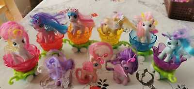 My Little Pony G3 Breezies Bundle Parade Carriages Carts Rare Lot • 30£