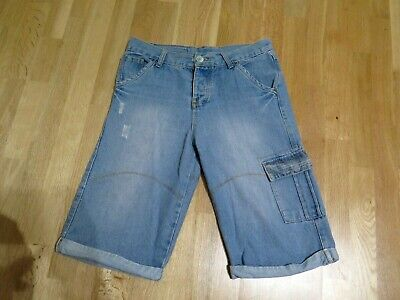 Airwalk Blue Pocket Summer Holiday Faded Casual Short Size W34 L • 12£