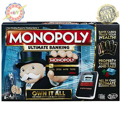 $80.73 • Buy Monopoly Game Ultimate Banking Edition Electronic Game Board New