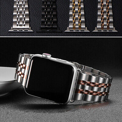 $ CDN17.49 • Buy Stainless Steel IWatch Band Strap For Apple Watch Series 6 5 4 3 2 SE 40/42/44mm