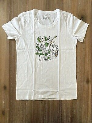 $34.99 • Buy J. Crew Factory Women's  Mojito  Collector's T Shirt  - White - NWT