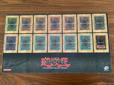 AU1200 • Buy YU-GI-OH! YUGIOH YGO ORIGINAL OG OFFICIAL RUBBER PLAYMAT PLAY MAT (used)
