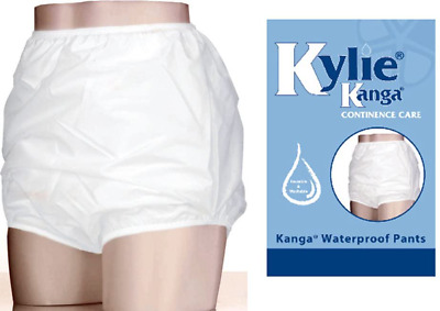 £16.65 • Buy Elderly Waterproof Pants Large Adult Reusable Incontinence Bedwetting Briefs
