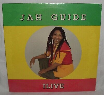 $10.99 • Buy ILIVE Jah Guide RARE 1990 PRIVATE REGGAE LP SEALED Twinkle Brothers