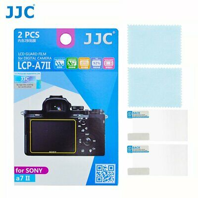 $ CDN17.22 • Buy JJC Camera LCD Guard Film Screen Protector For Sony A7R II A7R III A7R IV