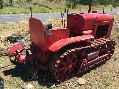 AU15000 • Buy 1935 Vintage Tractor International HC T20 Crawler Tractor & Belt Pulley,running.