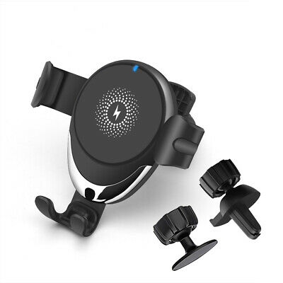 AU19.96 • Buy 15W Qi Wireless Car Charger Mount Gravity Car Holder For IPhone 11 X Samsung S20