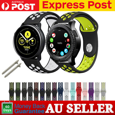 AU8.99 • Buy For Samsung Galaxy Watch Active 2 Band Replacement Silicone Sport Wrist Band