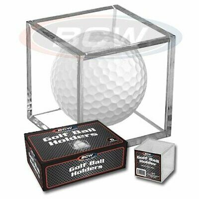BCW Golf Ball Square - Holder & Display Case Box Of 6 Cubes • 15.41£