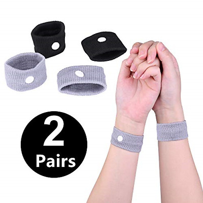 £6.39 • Buy Anti Nausea Travel Sickness Wristbands, 2 Pairs Motion Sickness Bands For Kids &