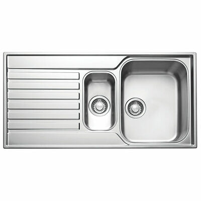 Franke Ascona Inset Sink Stainless Steel 1.5 Bowl 1000 X 510mm (37197) • 159.99£