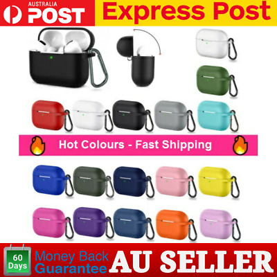 AU5.99 • Buy Apple AirPods PRO Case Cover Skin Slim Holder Airpods 3 Case AU
