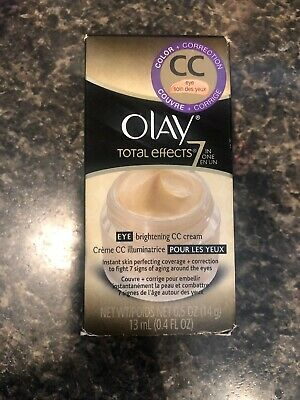 AU38.74 • Buy RARE Olay Total Effects 7 In One Eye Brightening CC Cream Anti Aging Skin 0.5 Oz