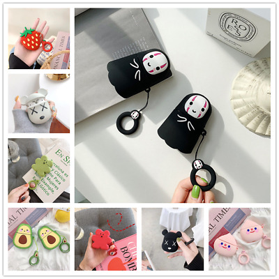 $ CDN5.51 • Buy Lovely AirPods Case Protect Silicone Cover Skin AirPod Earphone Cases