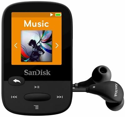 Bluetooth MP3 SanDisk Clip Sport Plus Wearable MP3 Player 16GB Radio FM   • 30.90£