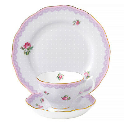 AU120 • Buy NEW Royal Albert Candy Collection Love Lilac Set 3pce