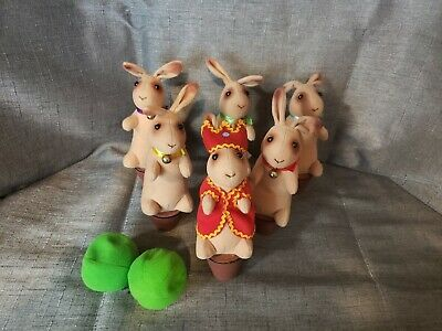 $30 • Buy Schylling Bowling Bunnies Game Bunny Pins With Bean Bag Balls