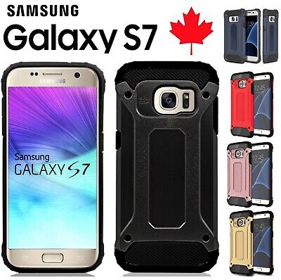 $ CDN2.99 • Buy For Samsung Galaxy S7 Case Heavy Duty Dual Layer Shockproof Armour 360 Cover