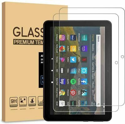 £4.49 • Buy 2Pack Tempered Glass Screen Protector For AMAZON KINDLE FIRE HD 7 10 8 Plus 2020