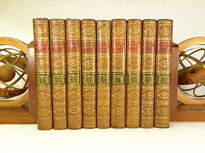 $1800 • Buy The Iliad And The Odyssey Of Homer Translated By Alexander Pope (9 Volumes) 1771
