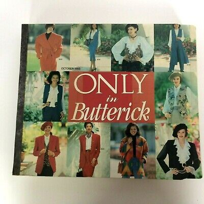 $39.99 • Buy Only In Butterick Sewing Pattern Catalog October 1993 Big Store Counter Book 90s