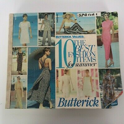 $39.99 • Buy Butterick Sewing Pattern Catalog July August 1994 Big Store Counter Book Fashion